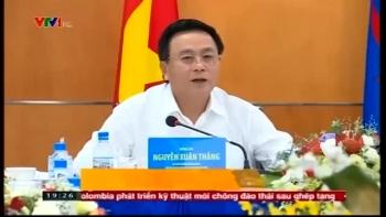 Bí thư Trung ương Đảng Nguyễn Xuân Thắng làm việc với PVN