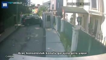 Hình ảnh một số nghi phạm vụ nhà báo Ả rập mất tích trên camera