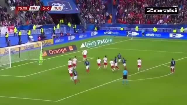 Tuyển Pháp chia điểm, chia hy vọng dự Euro 2020 cùng Thổ Nhĩ Kì
